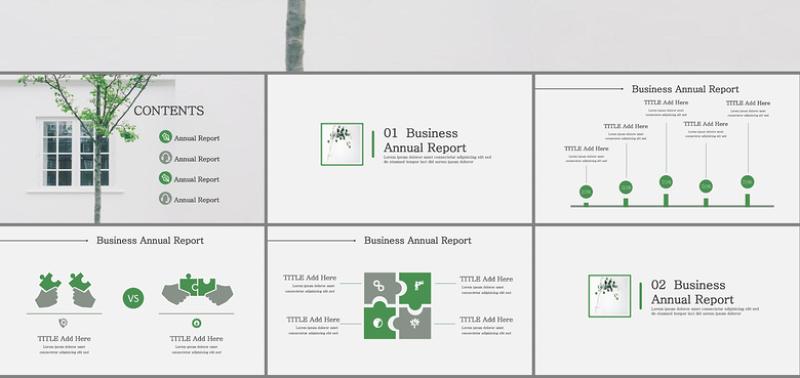 绿色营销案例分析_灰绿色市场营销分析案例分析PPT模板幻灯片下载_PPT模板 【工图网】