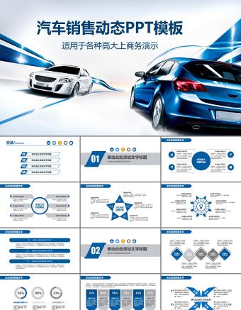 简洁汽车销售汽车美容汽车4S店工作汇报PPT亚博体育下载app苹果