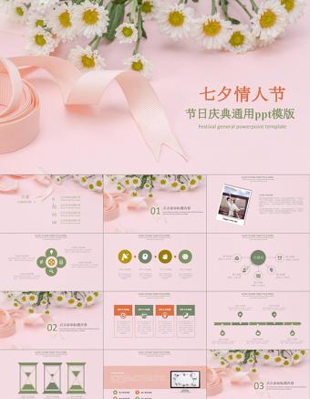 七夕情人节婚恋结婚简约PPT亚博体育下载app苹果
