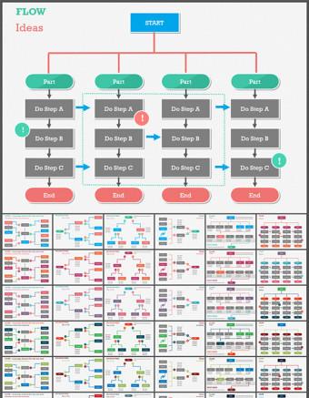 信息图表ppt设计素材
