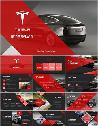 高端新能源汽车特斯拉tesla营销策划方案ppt