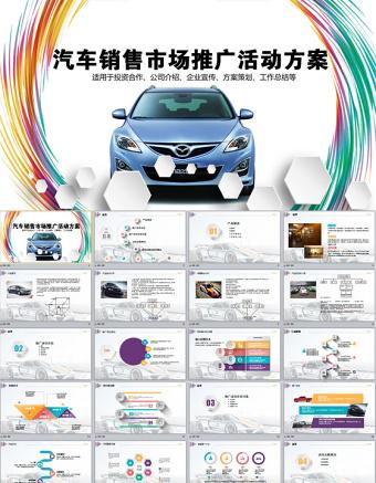 汽车销售市场推广活动方案PPT