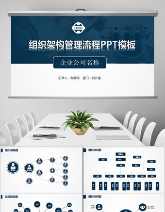 企业组织架构管理流程图PPT亚博体育下载app苹果